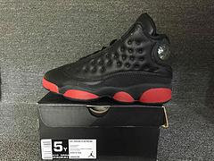 乔丹/Air Jordan 【特价真标】 AJ13 乔丹13代 乔13 乔丹13 篮球鞋 女鞋 真标 头层 乔13黑红 36.5 37.5 38.5 带半码 可接!