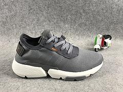 真标真爆,三叶草新品!adidas Originals POD-S3.1 Boost 全新爆米花轻跑老爹鞋灰色 36-44