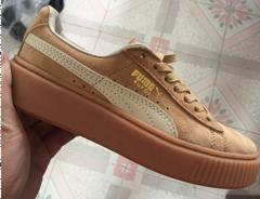PUMA板鞋362239-16 卡其36-44出货了