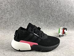 真标真爆,三叶草新品!adidas Originals POD-S3.1 Boost 全新爆米花轻跑老爹鞋黑粉 36-39