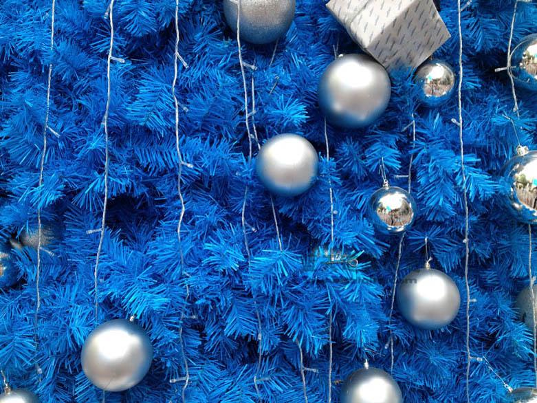 花木别墅圣诞树