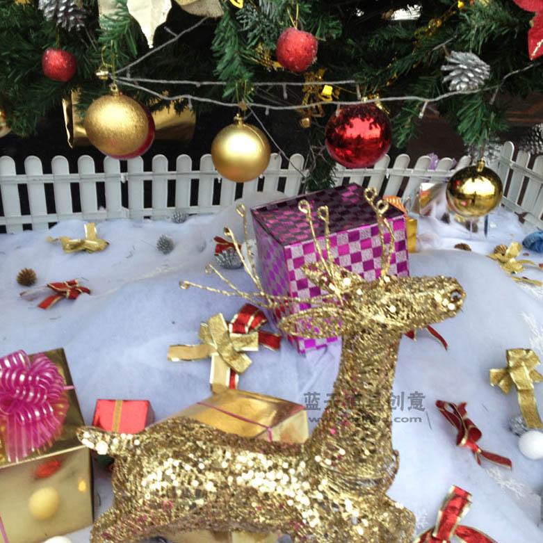 闸北圣诞节广场布置