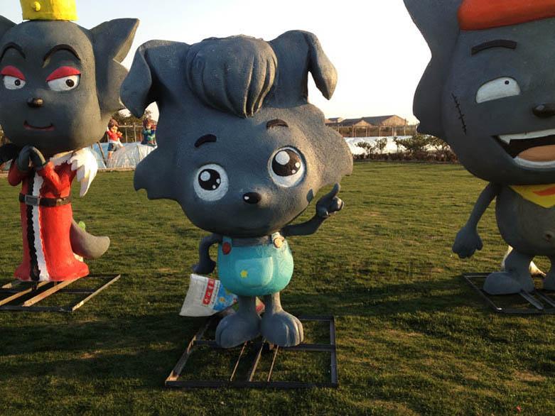松江公园泡沫雕塑