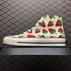 Converse匡威1970s小草莓帆布休闲高帮板鞋9