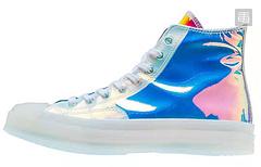 匡威Converse Chuck Taylor All Star 1970s Hi炫彩镭射 变色龙 果冻底高帮帆布鞋 带给你一种不一样的体验 尺码:35-449