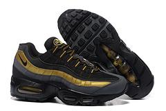 耐克NikeAirMax95PremiumBlackMetallicGold黑灰金5384160074046