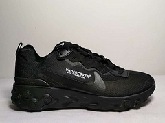 Nike Upcoming React Element 87反应元素半透明系列前卫慢跑鞋 高桥盾黑色36-45