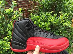 乔丹12代 黑红 原装头层真标真碳 男鞋41-47