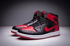 乔丹1代 黑红 男女鞋 二层真标 36-47乔1代 乔一代 乔丹1代 乔丹一代 AJ1代 AJ一代