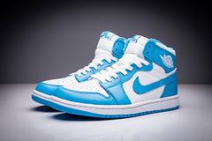 乔丹1代 北卡蓝 男女鞋 36-47 真标乔1代 乔一代 乔丹1代 乔丹一代 AJ1代 AJ一代