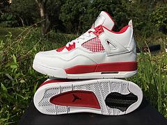 """乔丹4代 限量出货中,Air Jordan 4 """"Alternate '89 亚特兰大,原装真标 女鞋36-40"""