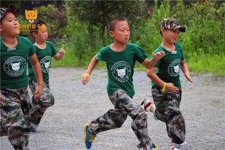 美洲豹夏令营晨跑
