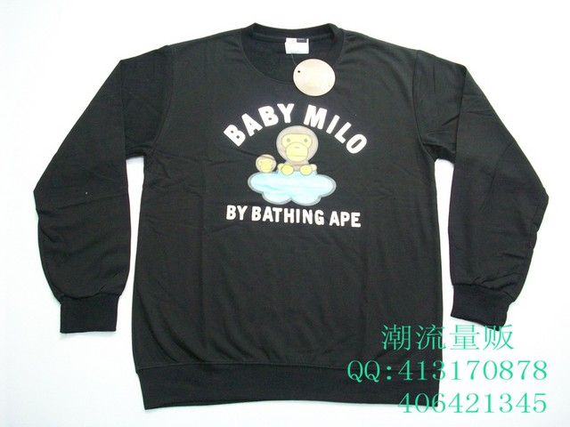 BAPE Baby Milo STAGE罗志祥力挺 休闲卫衣 639605 -为了让顾客更