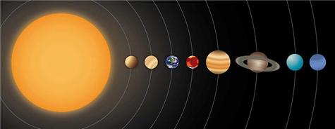星球 外星 宇宙 地球 太阳系 星系 外太空 天文 矢量406