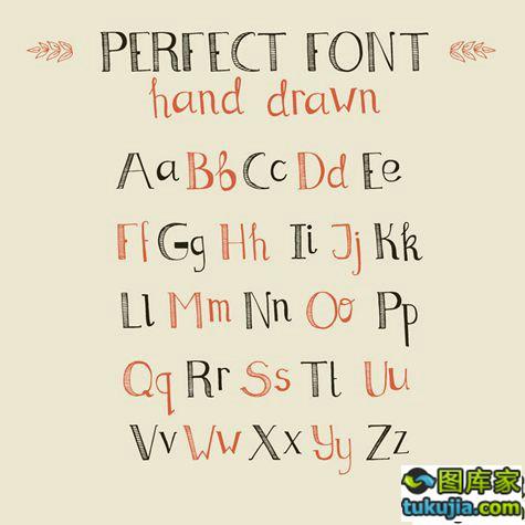 字体设计 PS字体 英文字体 英文字母 英文设计 矢量409