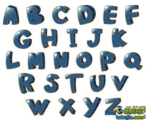 字体设计 PS字体 英文字体 英文字母 英文设计 矢量431