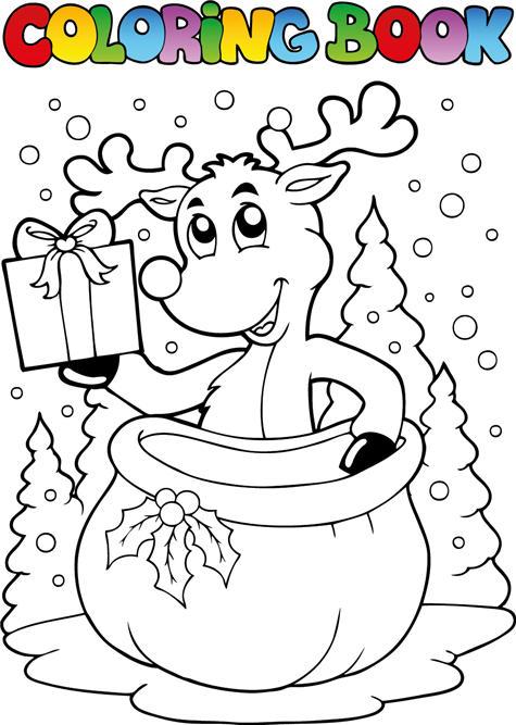 卡通动物 小动物 卡通动画 儿童卡通 儿童动画 矢量173