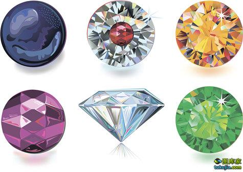 钻石 首饰 钻戒 珠宝 宝石 钻石字体 英文字体 矢量228