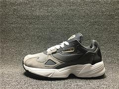130 Adidas FALCON W EE5106 阿迪达斯三叶草 老爹鞋 灰色渐变 女鞋 36-39