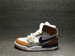 280 NIKE Air Jordan Legacy 312 NRG Pure white A.J312 AQ4160 140 联名三合一 蓝棕白    男鞋 40-45
