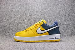 200 Nike Air Force 1 '07 LV8 1 AO2439 700 亚博集团空军一号板鞋新三兄弟黄蓝男女鞋36-45