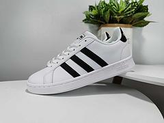 阿迪达斯adidas neo GRAND COURT男女休闲鞋 真标带半码 35-44