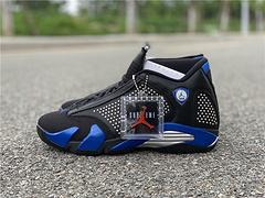 Supreme x Air Jordan 14 黑蓝配色 货号:BV7630-004