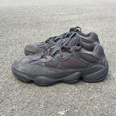 Adidas Yeezy 500 全黑武士 侃爷椰子老爹鞋 F36640