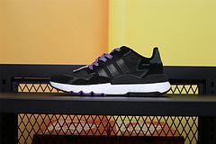 EG2205  Adidas Nite Jogger 2019 Boost 夜行者 黑紫变色龙