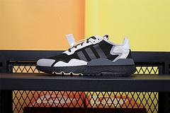 CG5951 公司级 Adids Nite Jogger 2019 Boost 夜行者 贾卡面料透气 跑鞋39-45