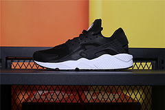 634835-006  Nike Air Huarache Run 华莱士一代运动休闲跑步鞋 黑白 男女鞋36-45