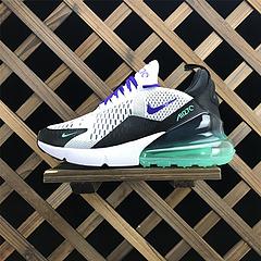 AH6789 -103 专柜号 顶级公司货 Nike Air Max 270 bet36是不是黑_英国bet36体育在线_bet36最新体育备用新款海外配色 后跟半掌气垫网面慢跑鞋 白绿紫 女鞋 36-39