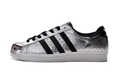 Adidas Original Casual shoes Superstar 80s Metal Toe Black Silver Gold size 36-44
