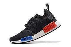 Adidas Original NMD Black Red Blue 36-45