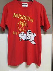 MOSCHINO问号小狗红色XSSMLXL