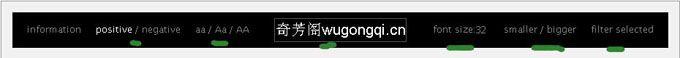 wordmark.it 在线字体预览网站,在线预览电脑内的字体
