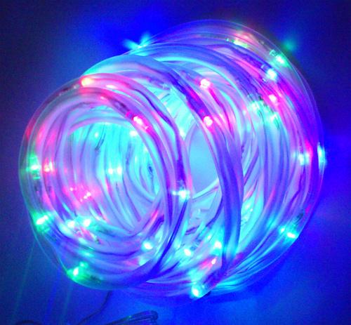 Solar Rope Lights Ebay: Colored Waterproof Solar Power Led Rope Light 100Led