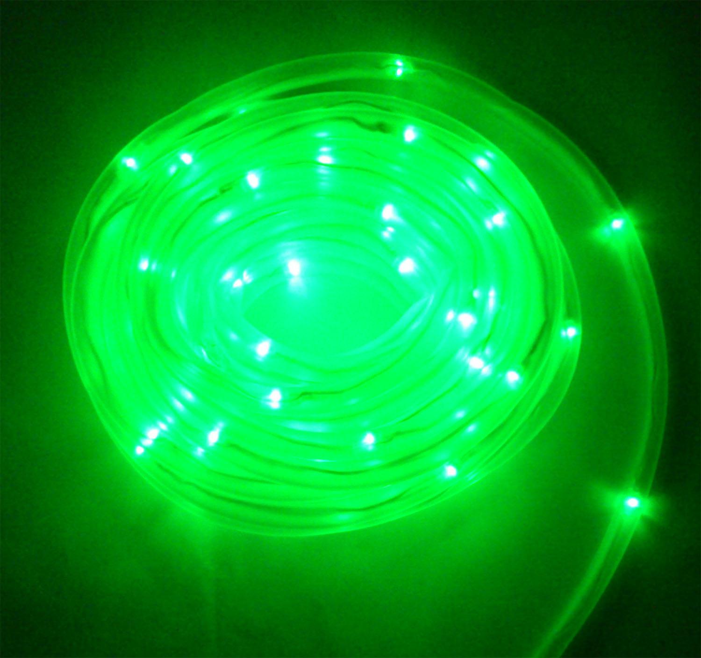 Solar Rope Lights Ebay: Solar Power LED Rope Light 100 LED Lights 10m Garden Light
