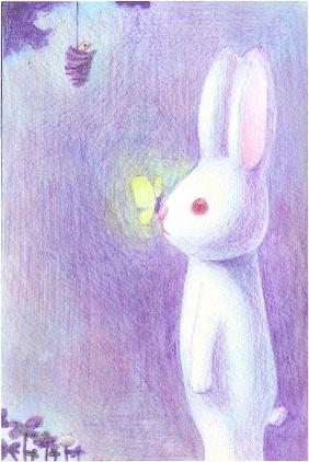 大兔子和小兔子 素描 半岛论坛 半岛文学 80末90后青春严肃文学 图片