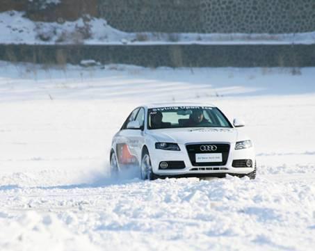 全程无遗漏曝光2010奥迪冰雪节