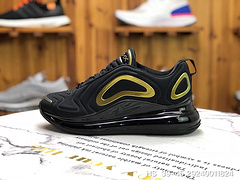 GS版 气垫跑鞋720黑金 AO2924 011男鞋39 40 40.5 41 42 42.5 43 44 45