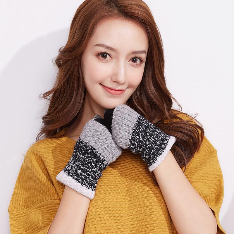 Фритюрница MILE Женские перчатки из флиса осень-зима (Фото 2)