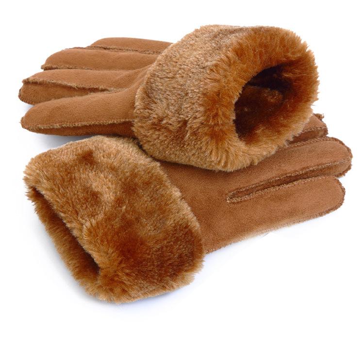 Фритюрница MILE Мужские спортивные перчатки из флиса (Фото 4)