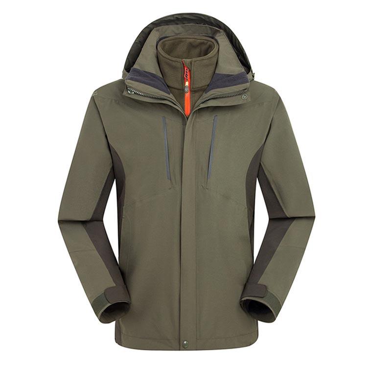 MILE Мужская ветрозащитная куртка из флиса для туризма и спорта