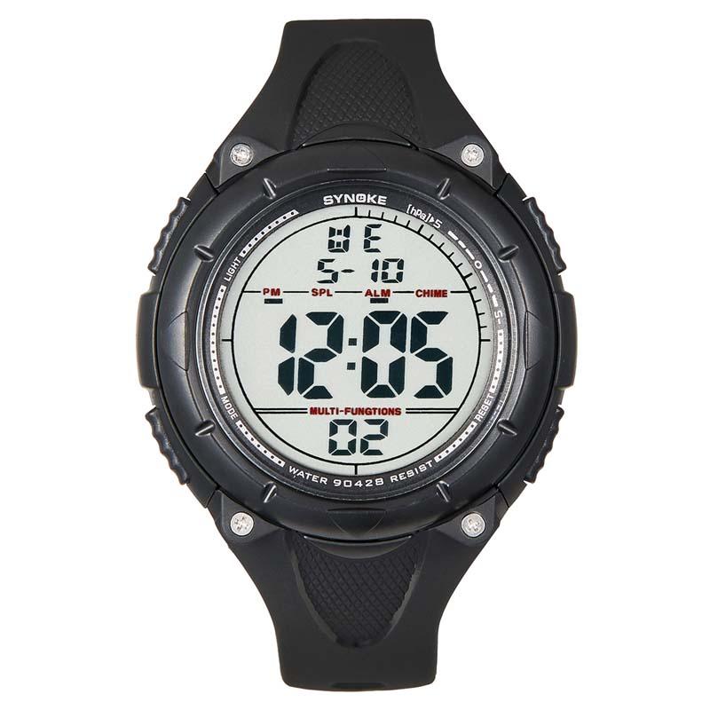 Фритюрница MILE Мужские цифровые силиконовые спортивные часы (Фото 2)