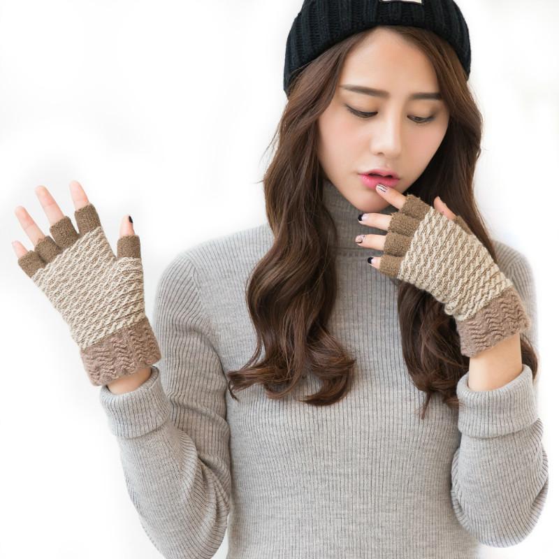 Фритюрница MILE Мужские спортивные перчатки без пальцев для осени (Фото 5)