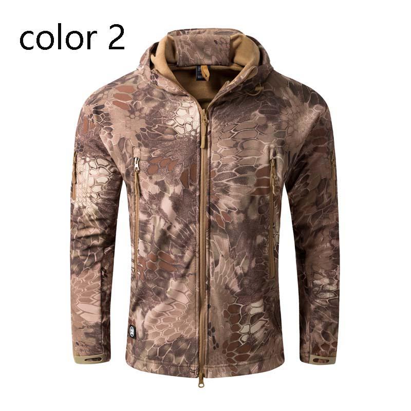 Фритюрница MILE Мужская тактическая куртка из флиса (Фото 4)
