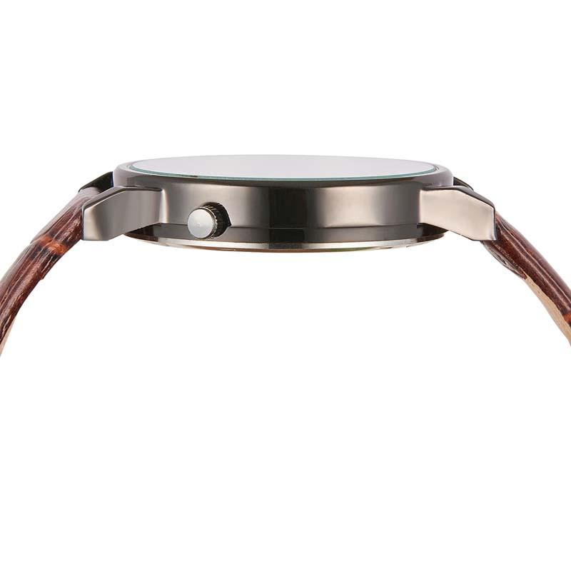 Фритюрница MILE Кварцевые наручные часы с кожаным ремешком (Фото 4)