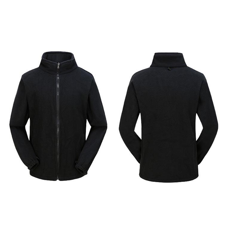 Фритюрница MILE Мужская двойная спортивная зимняя куртка из флиса (Фото 3)