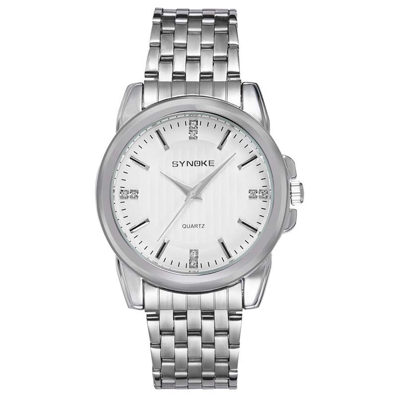 Фритюрница MILE Мужские наручные часы с кожаным ремешком (Фото 4)